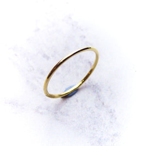 Fine Yellow Gold Ring