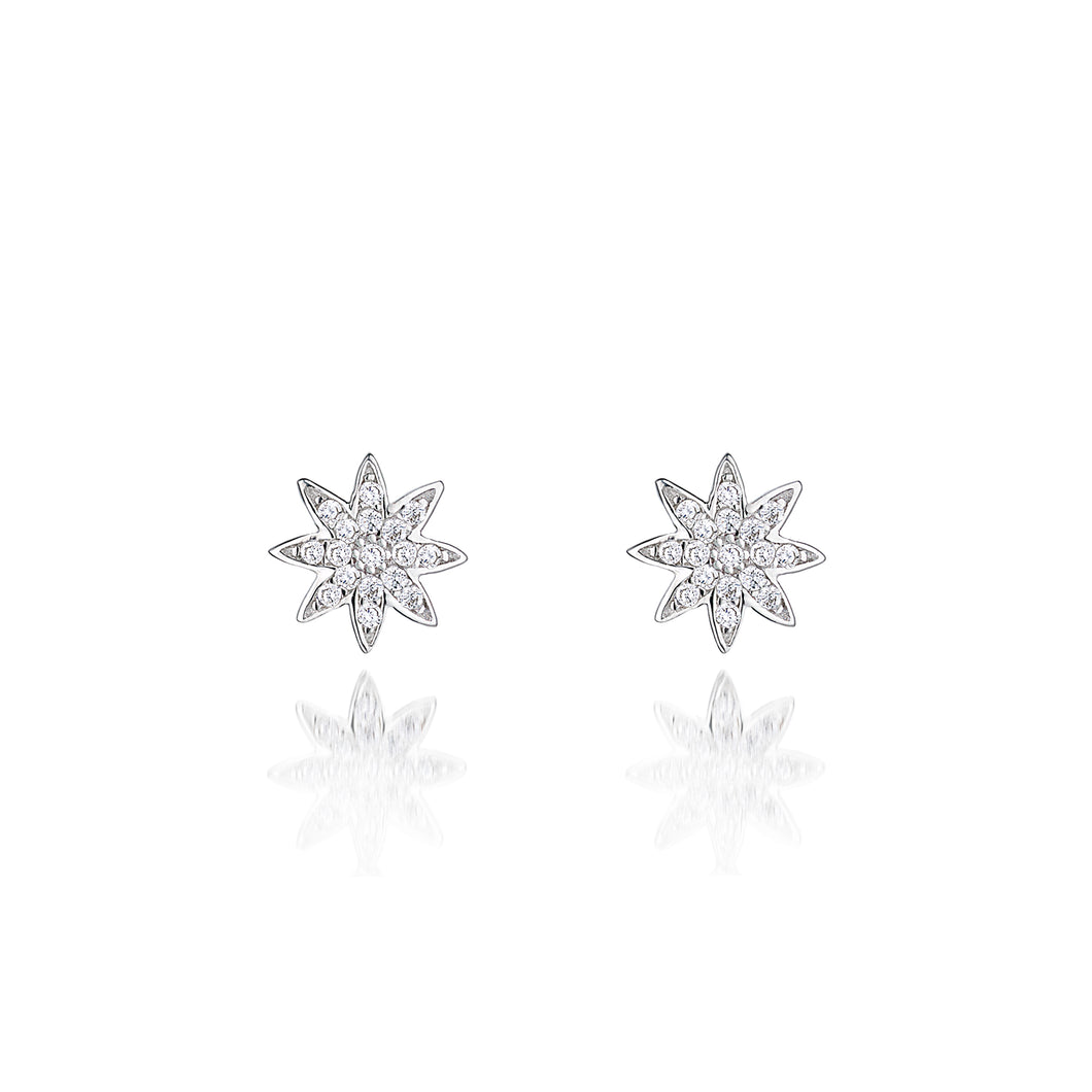 Nova Star Stud Earrings