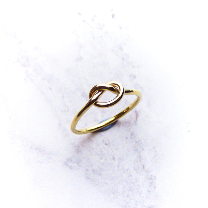 9ct Yellow Gold Knot Ring