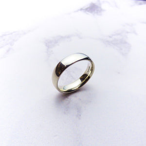 Silver Court Mens Ring