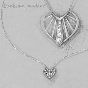 Sunbeam Pendant