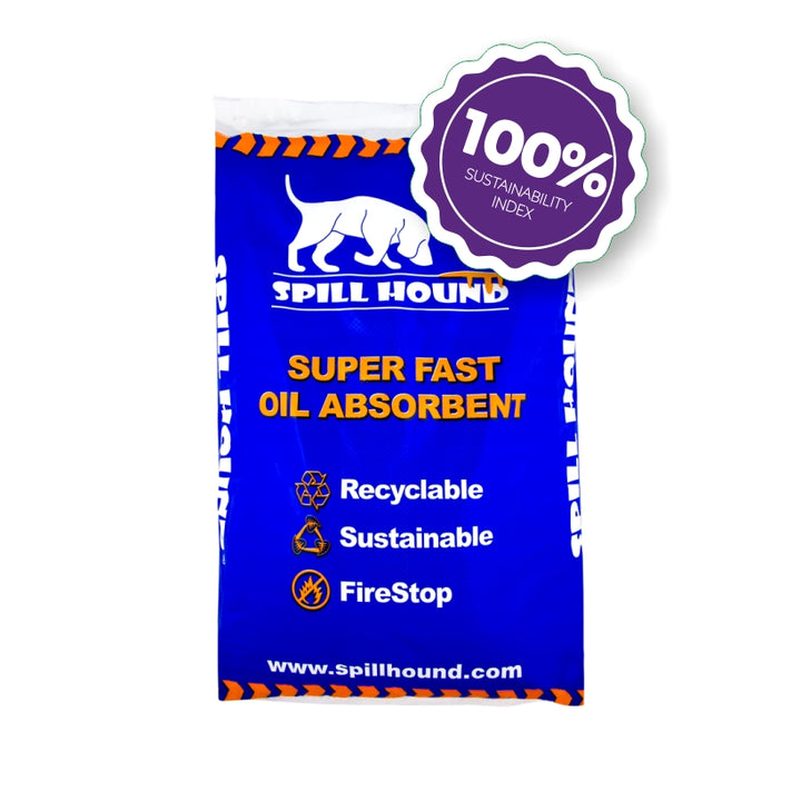 100% Sustainable oil absorbent 10kg bag - Clean By Nature