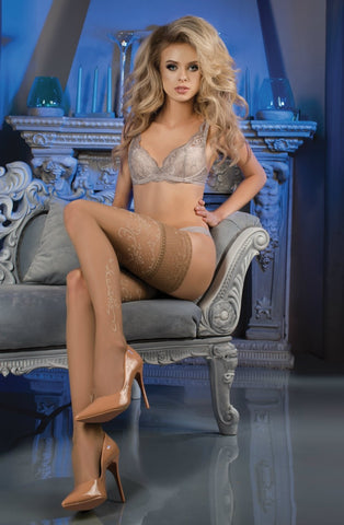 Nude Thigh High Stockings
