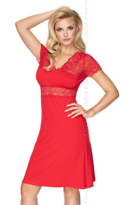 Cameron Nightdress, Red