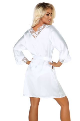 Ambrosia Luxury Robe White