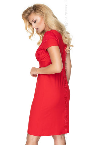Image of Gia Nightdress, Red