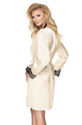 Image of Juniper Dressing Gown, Cream
