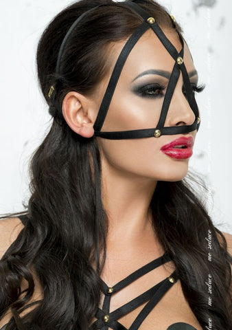 'Bond Me' Mask, Black