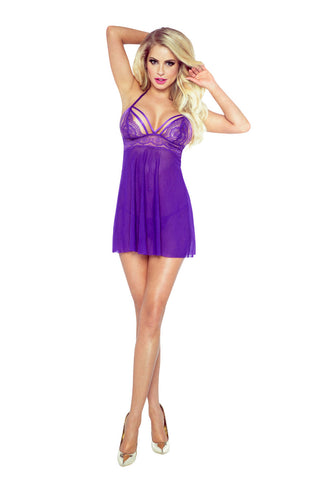 Purple Seduction Babydoll