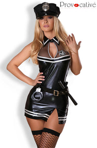 Sexy Officer Costume Set