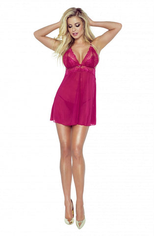Image of Candymoon Babydoll, Wine