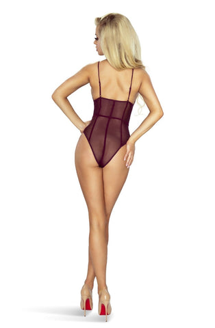 Image of Aubergine Sheer Teddy