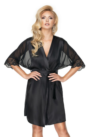 Sharon Dressing Gown, Black