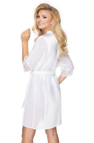 Sharon Dressing Gown, White