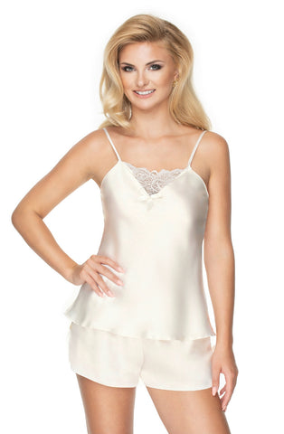 Image of Tori Pajama Set, Ivory