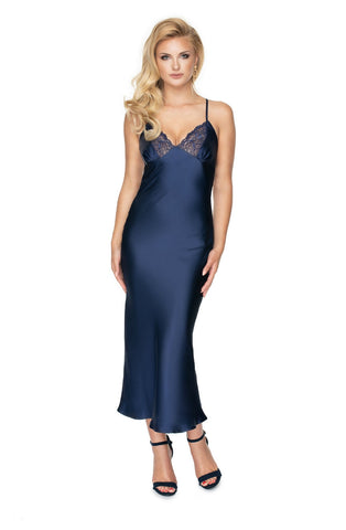 Image of Yoko Nightdress, Navy