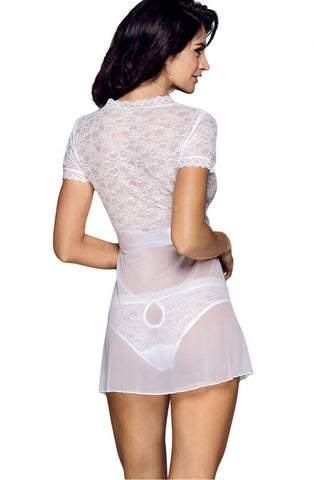 Image of White Lace Babydoll