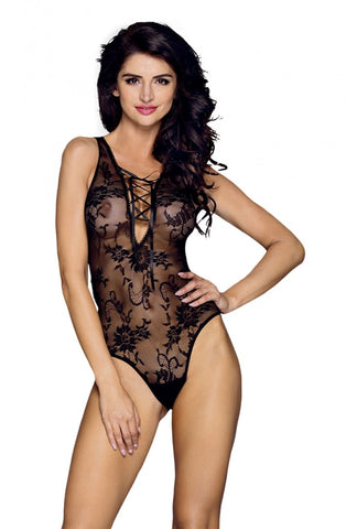 Image of Floral Lace Teddy