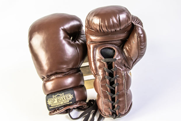 Old School Boxing Gloves