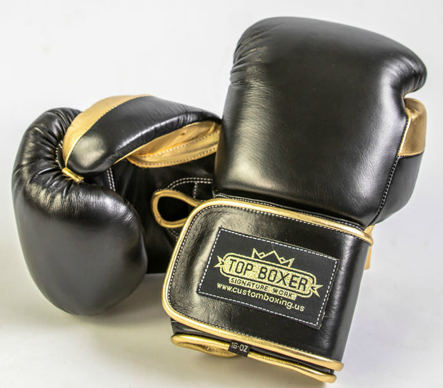 Win1 (Black) Boxing Gloves