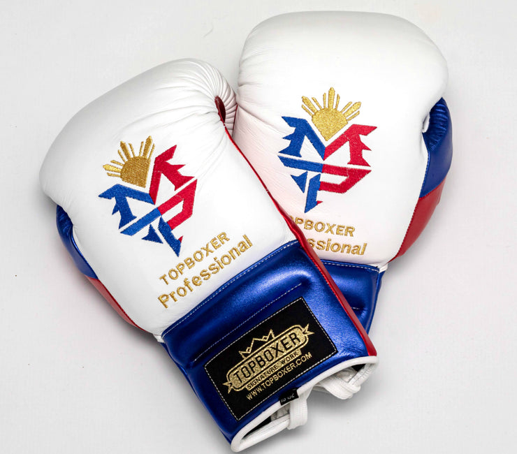Win1 (Pacquiao White) Boxing Gloves