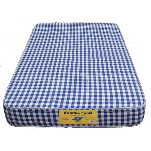 Double mattress with cover Rwanda foam density 25 190x140x25