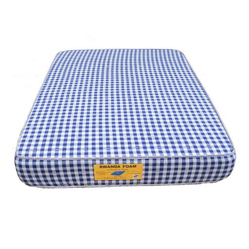 Double mattress with cover Rwanda foam density 25 200x200x25