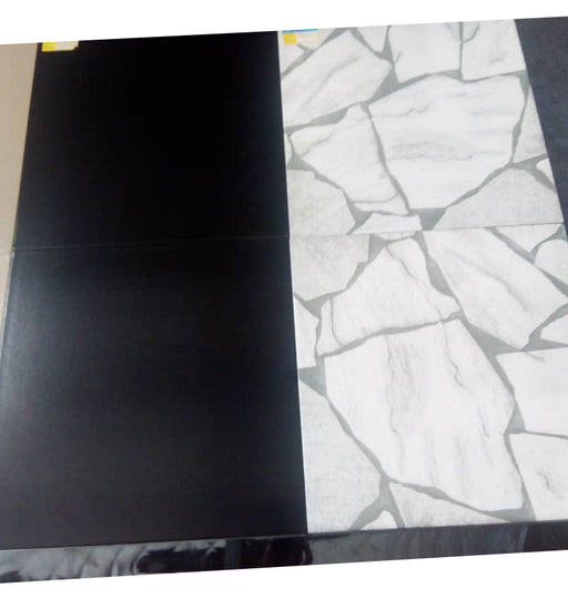 40X40 mm Black or White Ceramic Tiles