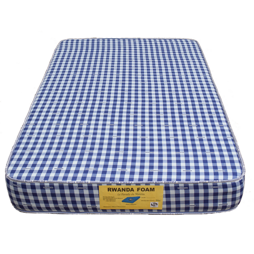 Double Mattress with Cover with Tape Rwanda foam Density 20 (190x180x20)