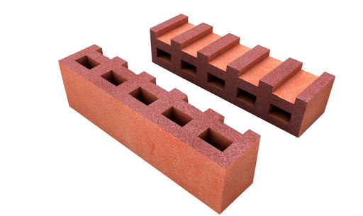 21X5X6.3  RULIBA HALF BRICK SMOOTH