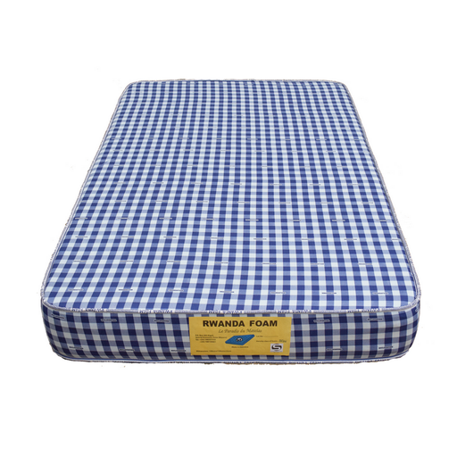 Double mattress with cover Rwanda foam Density 25 190x160x25