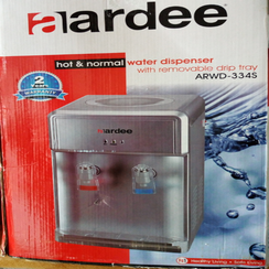 Water dispenser with removable drip tray (Hot & normal)