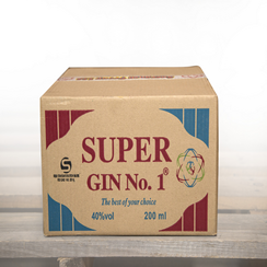 1 boxes of Super GIN No.1    200ml