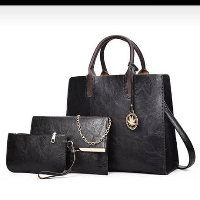 Hand Bag for Women ,2 Small bags inside