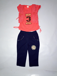Kids Pant with Top For Girl