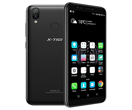 "X-TIGI A2- 4G LTE- 3GB+32GB - 5.7"" HD IPS- 13MP DUAL CAMERA"