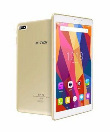 "X-TIGI   Tablet JOY 10- 10.1"" 8MP+5MP 16GB ROM+1GB  RAM-Dual Sim"