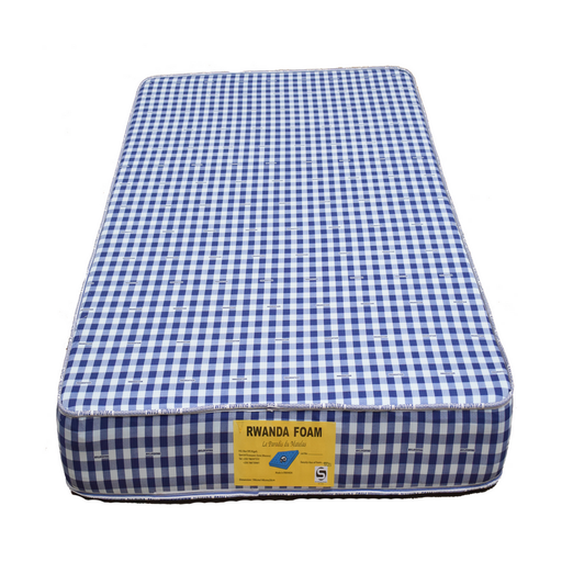 Single mattress with cover Rwanda foam Density 25 190x90x10