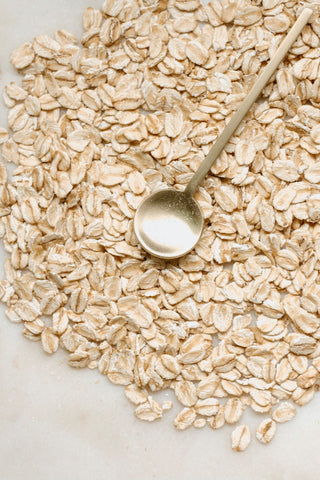 Oats for exfoliating