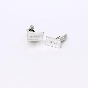 Andrew Chicago flag cufflinks