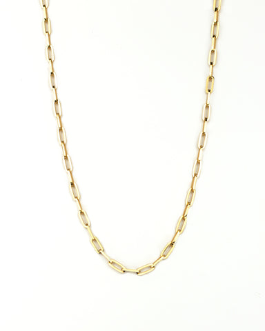 briana double fringe silver necklace