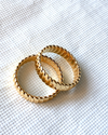 gold plated trendy ring fish scale friendship ring trending jewelry