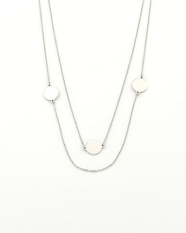 rachel layering necklace