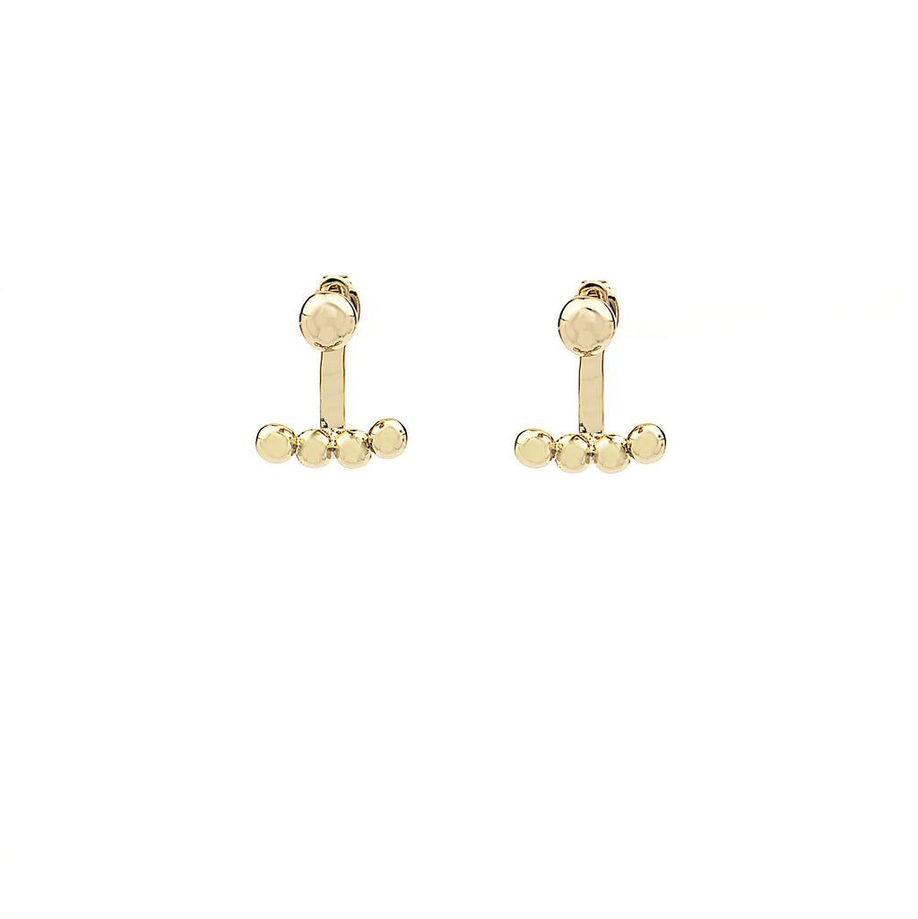the incredible two in one ear jacket earring