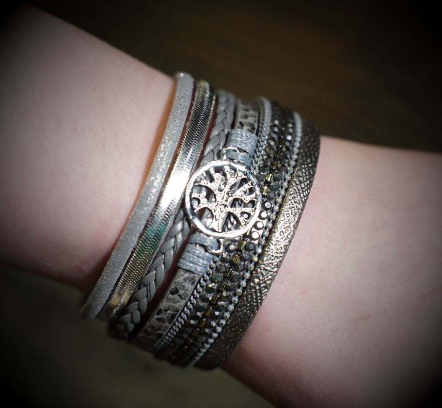 Women's Tree Of Life - Grey