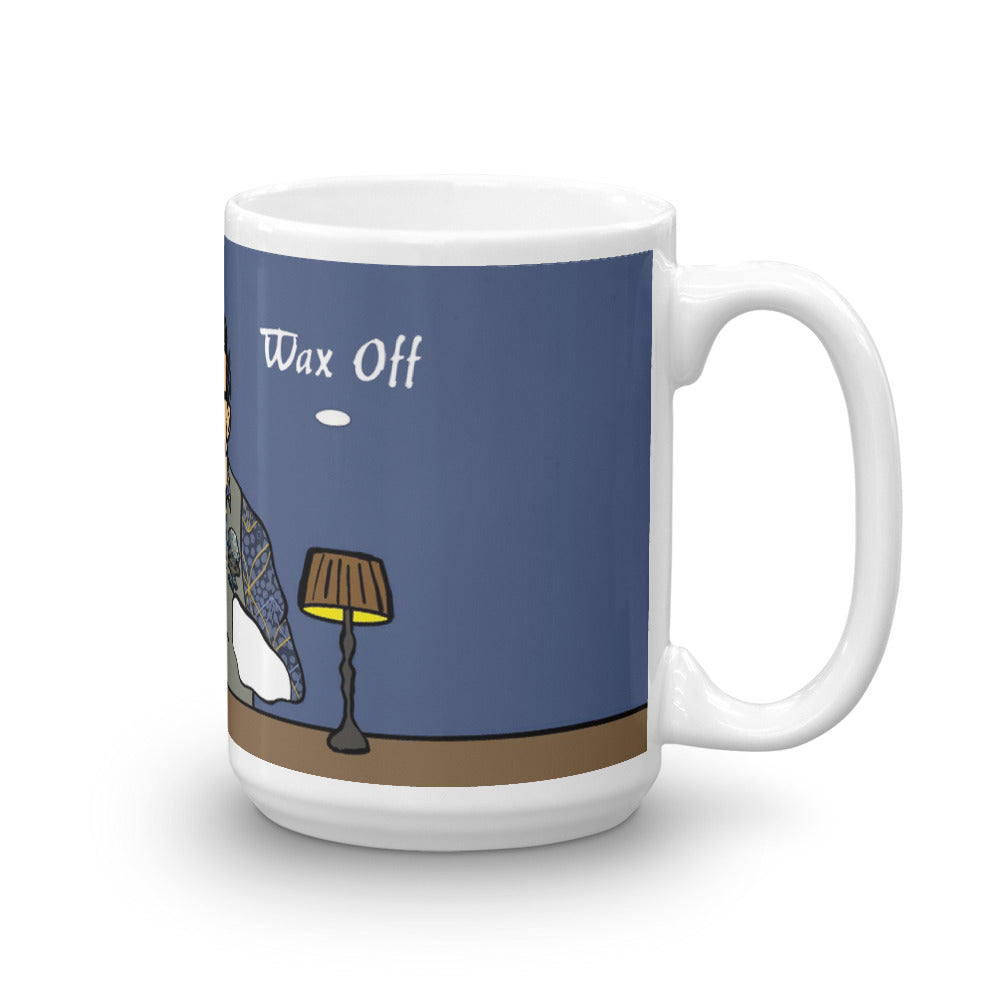 """Wax On, Wax Off"" Pillar Power School Coffee Mug"