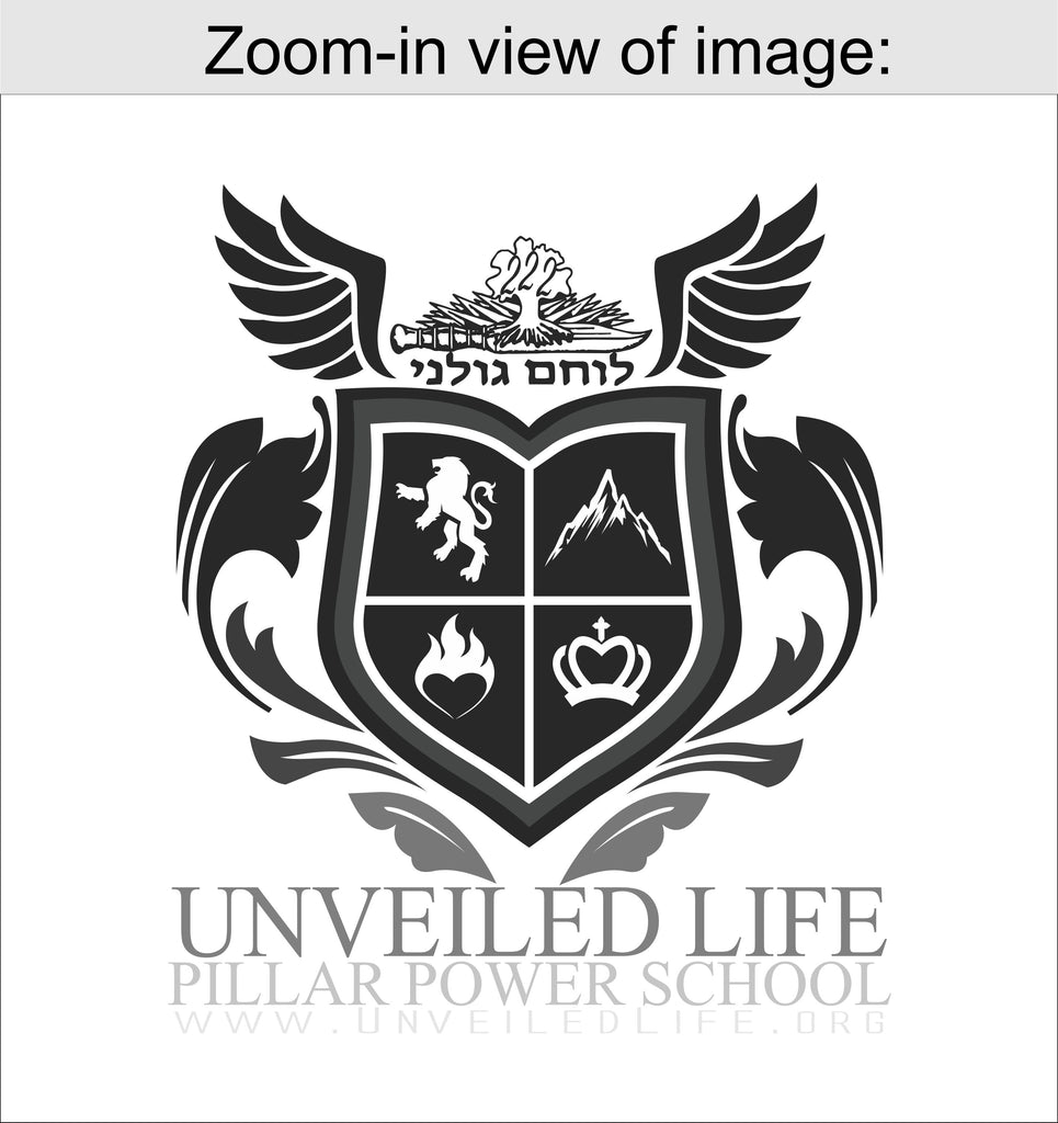 Men's T-shirt: Official Unveiled Life Power School T-shirt (WHITE)