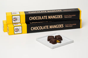 Chocolate Mango Bites by Cocoa Monster