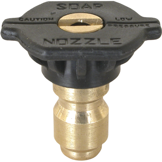 Pressure Washer Soap Nozzle Tip 65 Degree Black Brass - US Pressure