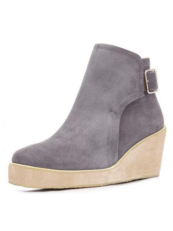 Wedge Fashion Boots
